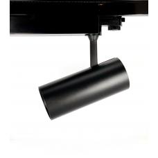 Трековый светильник RAPID, 15W, черный, 3 фазы, 3000К