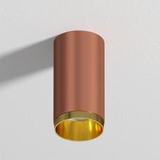 """Накладной светильник G-Lumi, """"медный песок"""", 120*60мм"""