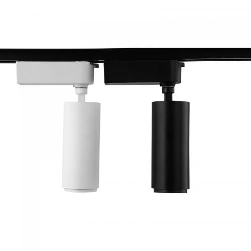Трековый светильник CANNON, 30W, белый, 3 фазы, 4000К