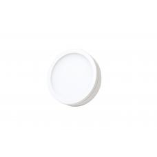 Накладной светильник, круглый, 16W, 150*25мм, 4000К, белый