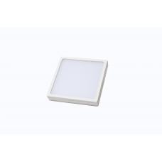 Накладной светильник, квадратный, 16W, 150*150*25мм, 4000К, белый