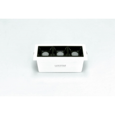 Встраиваемый светильник R LINE, 7.5W, 104.5*44.5*35.6 (98*38)мм, 3000К