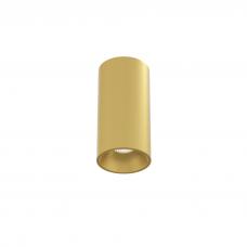 Накладной светильник Module S, 9W, золотой, 3000К, 53*100мм