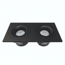 Встраиваемый светильник Module R, 18W, 3000K/4000K, Φ170*85 мм, черный