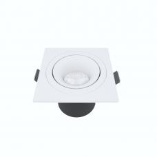 Встраиваемый светильник Module R, 9W, 3000K/4000K, Φ69*65 мм, белый