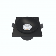 Встраиваемый светильник Module R, 9W, 3000K/4000K, Φ69*65 мм, черный