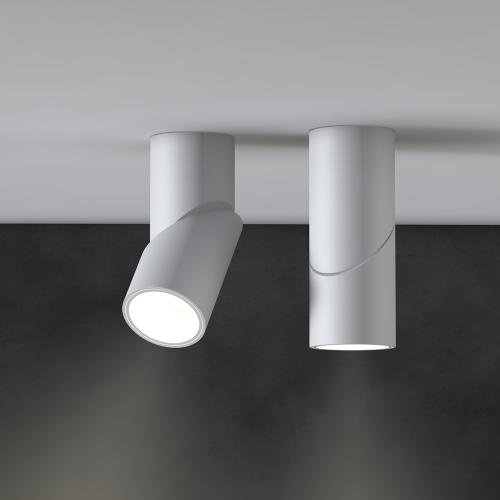 Накладной светильник SLIDER, 12W, белый, 3000К, 71*177мм