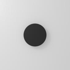 Накладной настенный светильник ECLIPSE, 6W, 3000K, 135*31мм, черный