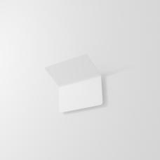 Накладной настенный светильник GLOW, 12W, 3000K, 180*170*125мм, белый