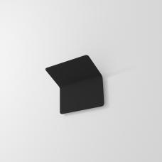 Накладной настенный светильник GLOW, 12W, 3000K, 180*170*125мм, черный