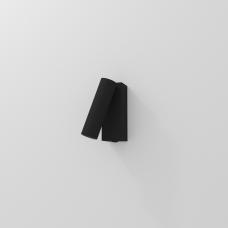 Накладной настенный светильник READER, 3W, 3000K, 110*60*40мм, черный