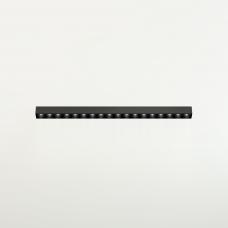 Магнитный светильник DOT LINE, 10W, 30см, черный, 3000К