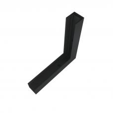 Магнитный L -коннектор накладной вертикальный