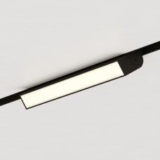 Магнитный трековый поворотный светильник STELLAR, черный, Line 30см - 3000K, 48V, 12W