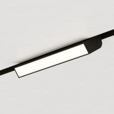 Магнитный трековый поворотный светильник STELLAR, черный, Line 30см - 4000K, 48V, 12W